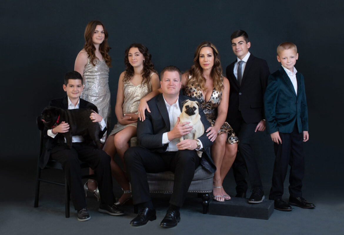 blended family photosession