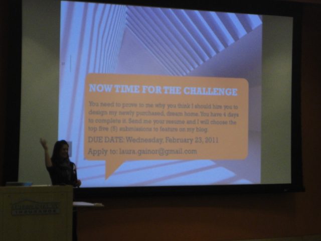 Student Presentations from ASID & IIDA WI Interior Design Career Day