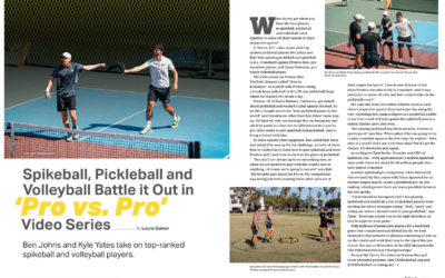 Spikeball, Pickleball and Volleyball Battle it Out in 'Pro vs. Pro' Video Series