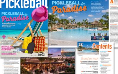 Pickleball Magazine: Pickleball in Paradise