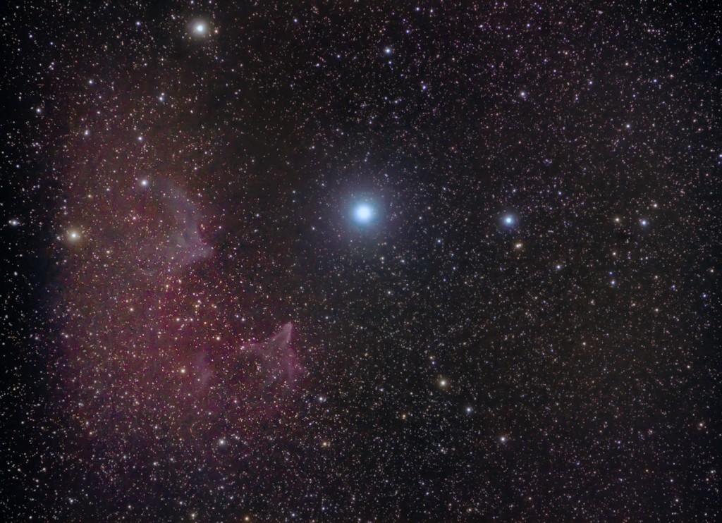 IC 59: Gamma Cas Nebula