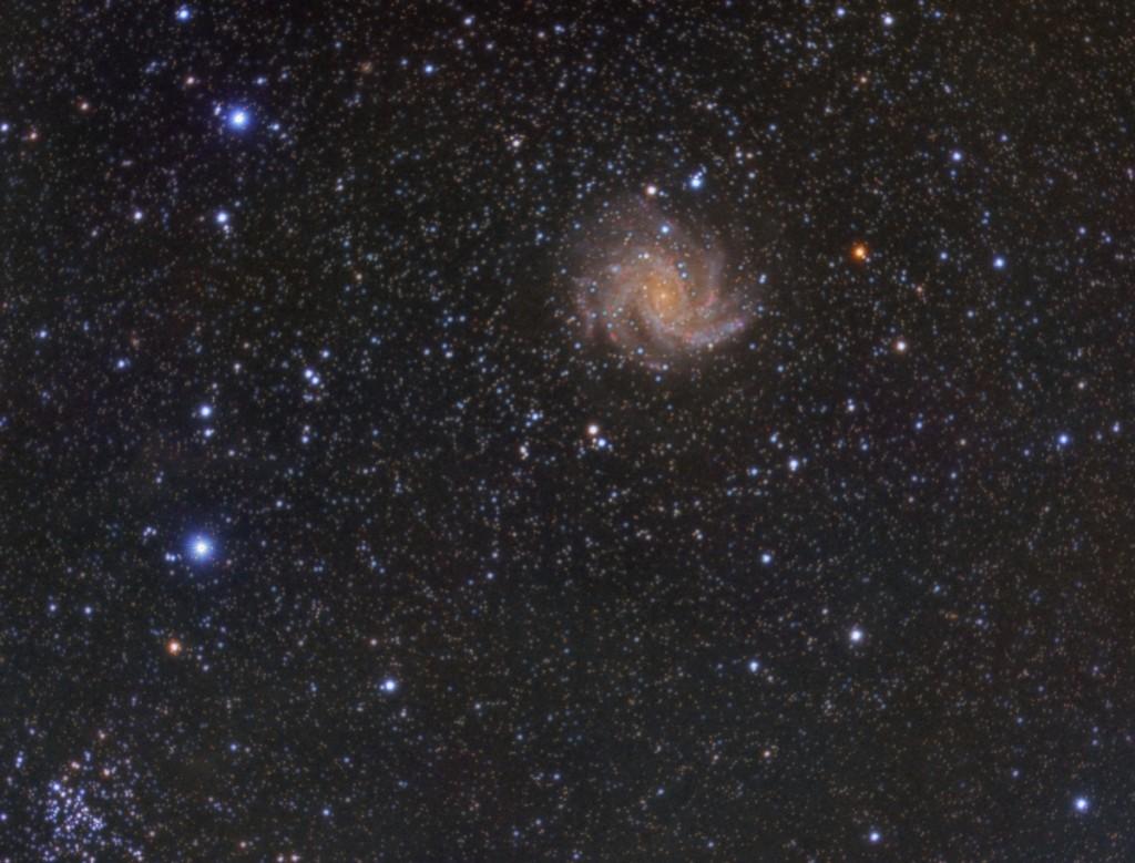NGC 6946: Fireworks Galaxy