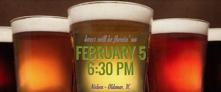 Beakers & Brews – Feb 5th