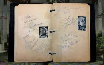 1930's Golden Age Hollywood Movie Star Autograph Book (Sold for $2,499)