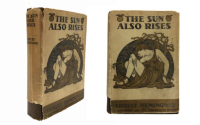"""Ernest Hemingway's """"The Sun Also Rises"""", 1926 First Edition (Sold for $12,000)"""