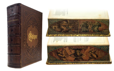 Works of Shakespeare with Double Fore-Edge Paintings (Sold for $1,800)