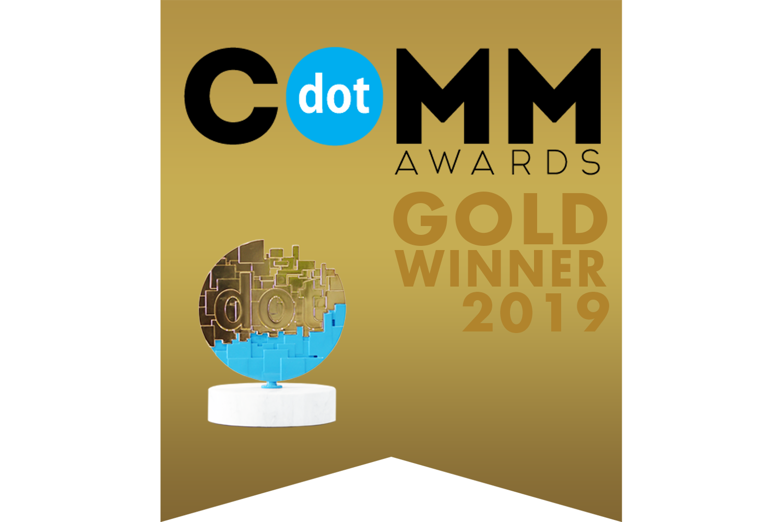 dotComm Awards 2019 Gold