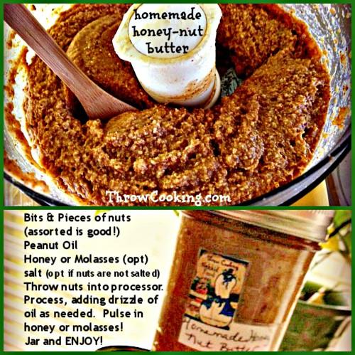 homemade honey nut butter!
