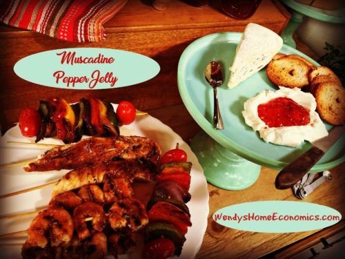 Muscadine Pepper Jelly