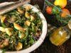 Spring Green Veggie-Pasta Salad with Citrus Vinaigrette