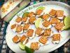 Key Lime Pie Pretzel Ice Cream Sandwich Bites