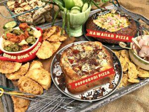 Bread Bowl Pizza Fondue