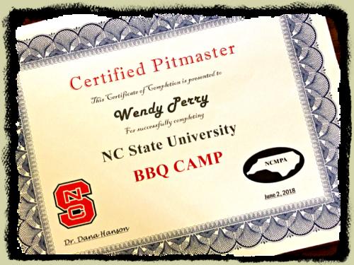 I'm a BBQ Pitmaster!