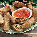 Wendy's Pork & Shrimp Egg Rolls