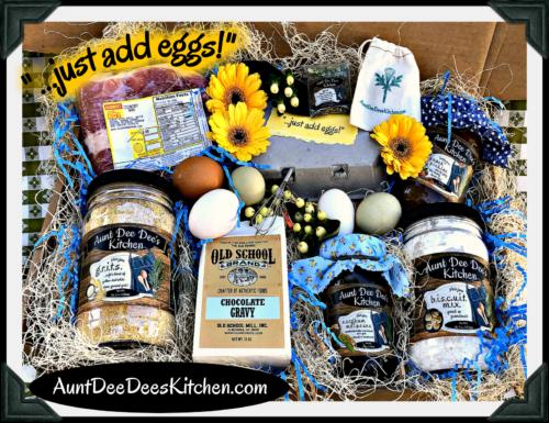 "Aunt Dee Dee's Kitchen ""...just add eggs!"" gift box!"