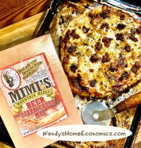 Mimi's Mountain Mix Pizza at Wendy's Home Economics!