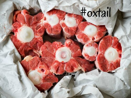 oxtail Wendy's Home Economics