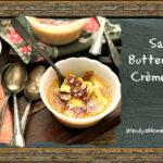 Salted Butterscotch Crème Brûlée