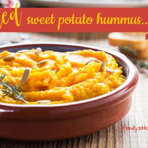 Spirited Sweet Potato Hummus