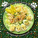 Doggone Good Chicken Salad and Deviled Eggs