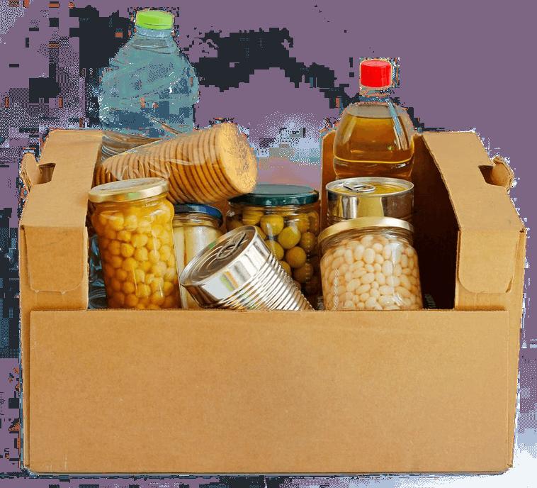 Community Food Pantry in Tool