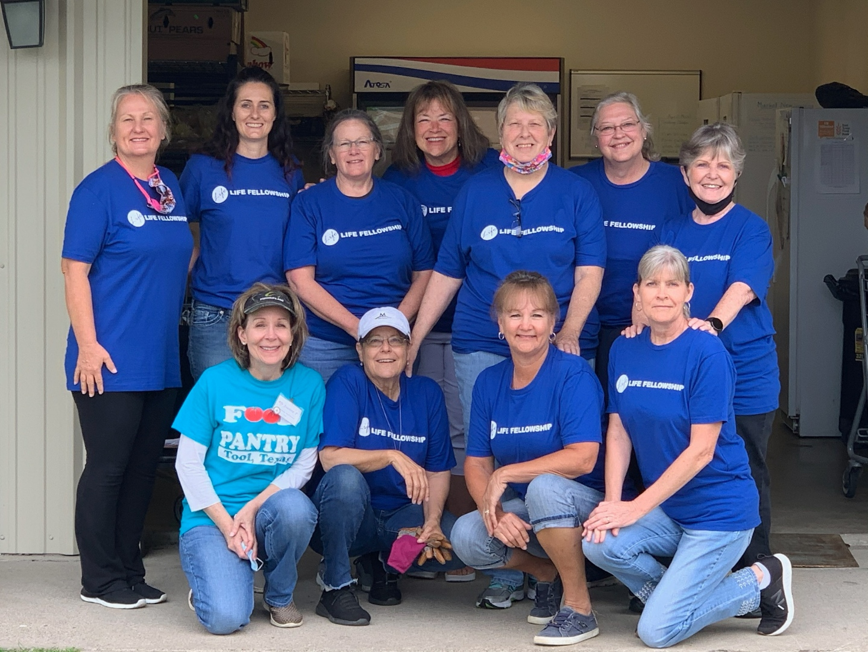 A Team of Female Volunteers