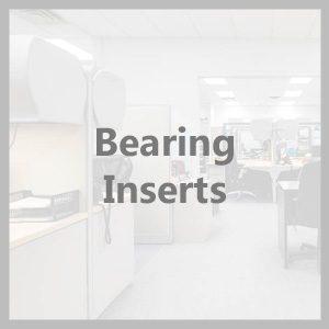 Bearing inserts