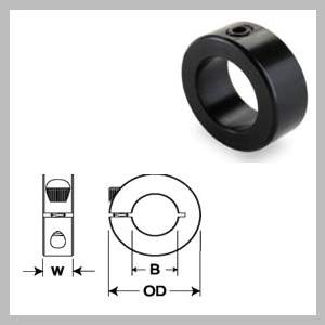 Metric Size Solid Collars