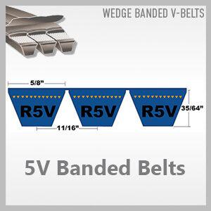 5V Banded Belts