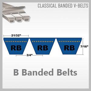 B Banded Belts