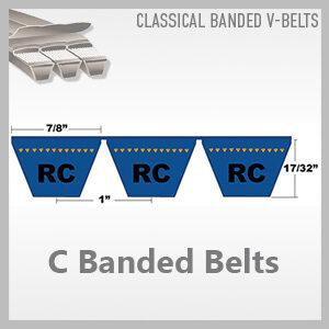 C Banded Belts