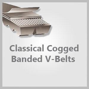 Classical Cogged Banded V-Belts