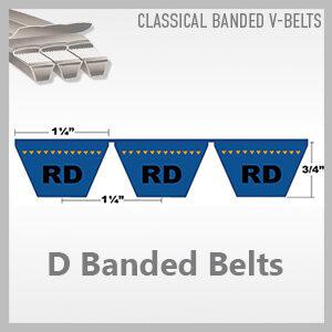 D Banded Belts