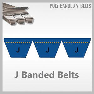 J Banded Belts