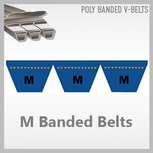 M Banded Belts