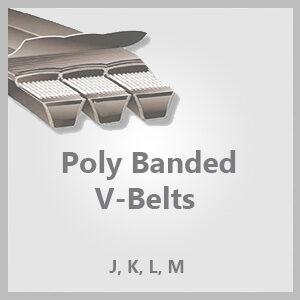 Poly Banded V-Belts