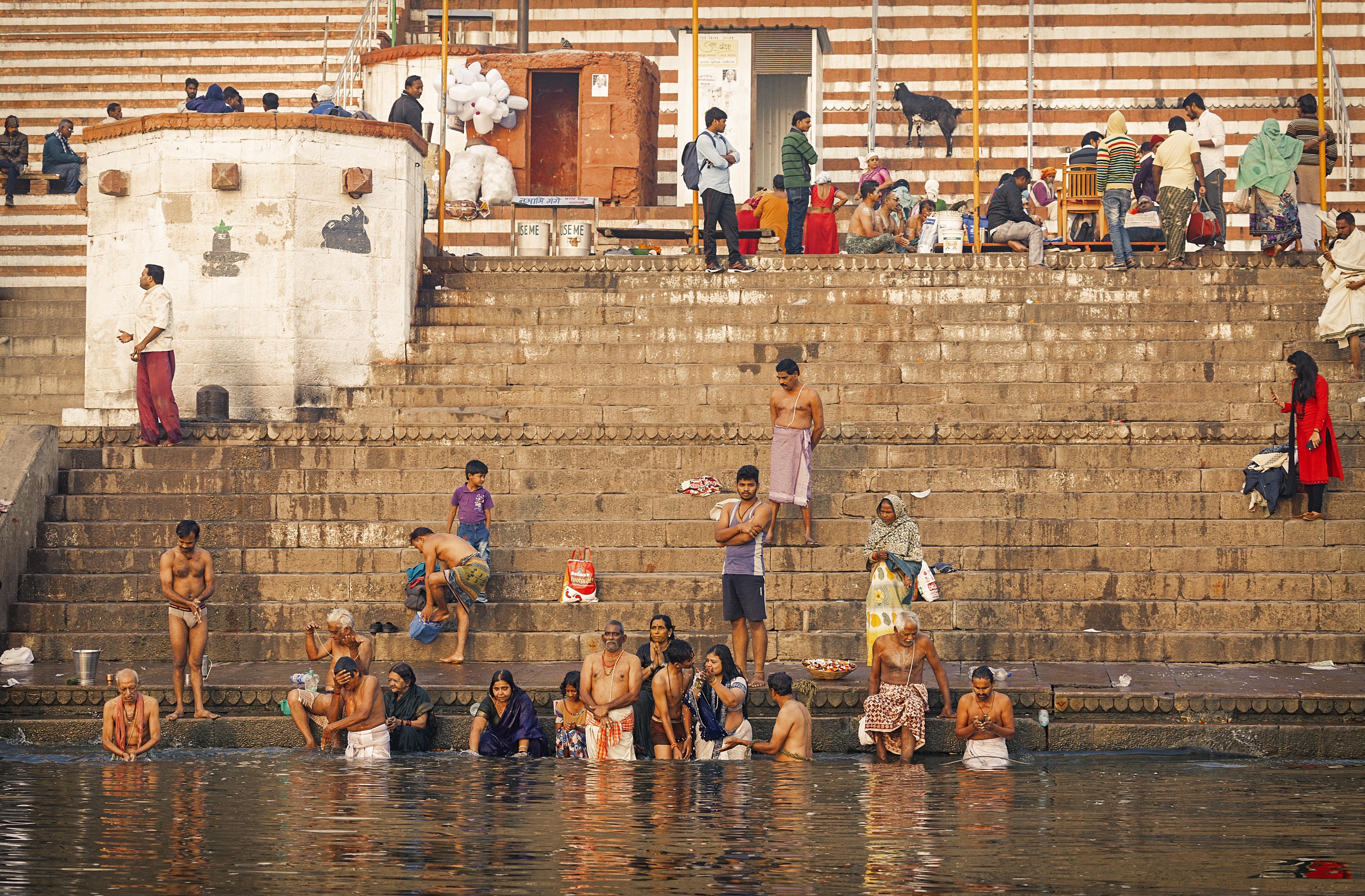 Varanasi, lo que fue.