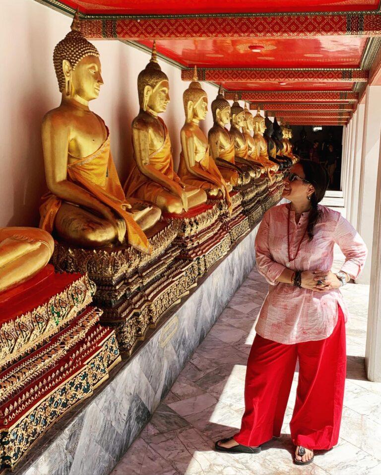Buddhas del complejo del Palacio Real