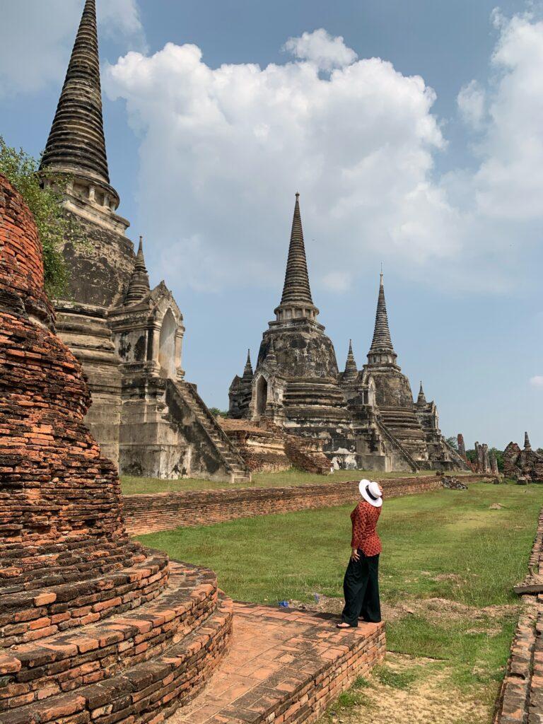 Ayutthaya y las Stupas