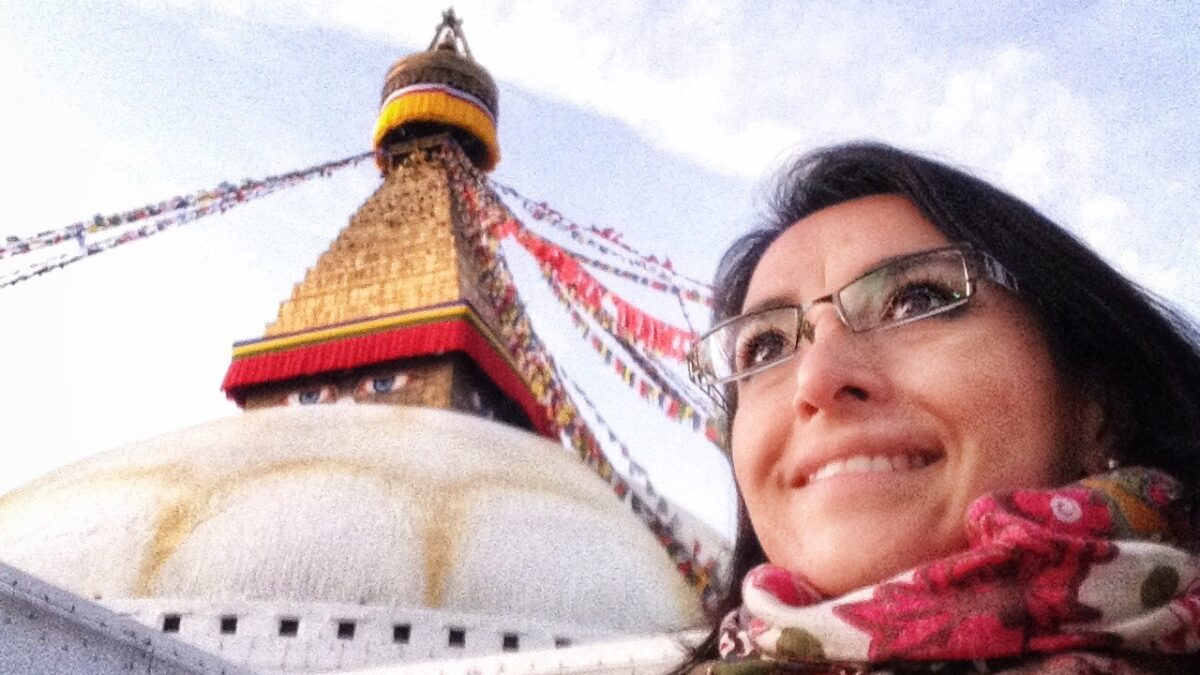 Nepal; algo muy grande te cuida allá arriba.
