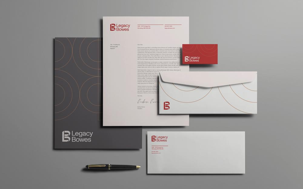 Legacy Bowes letterhead.