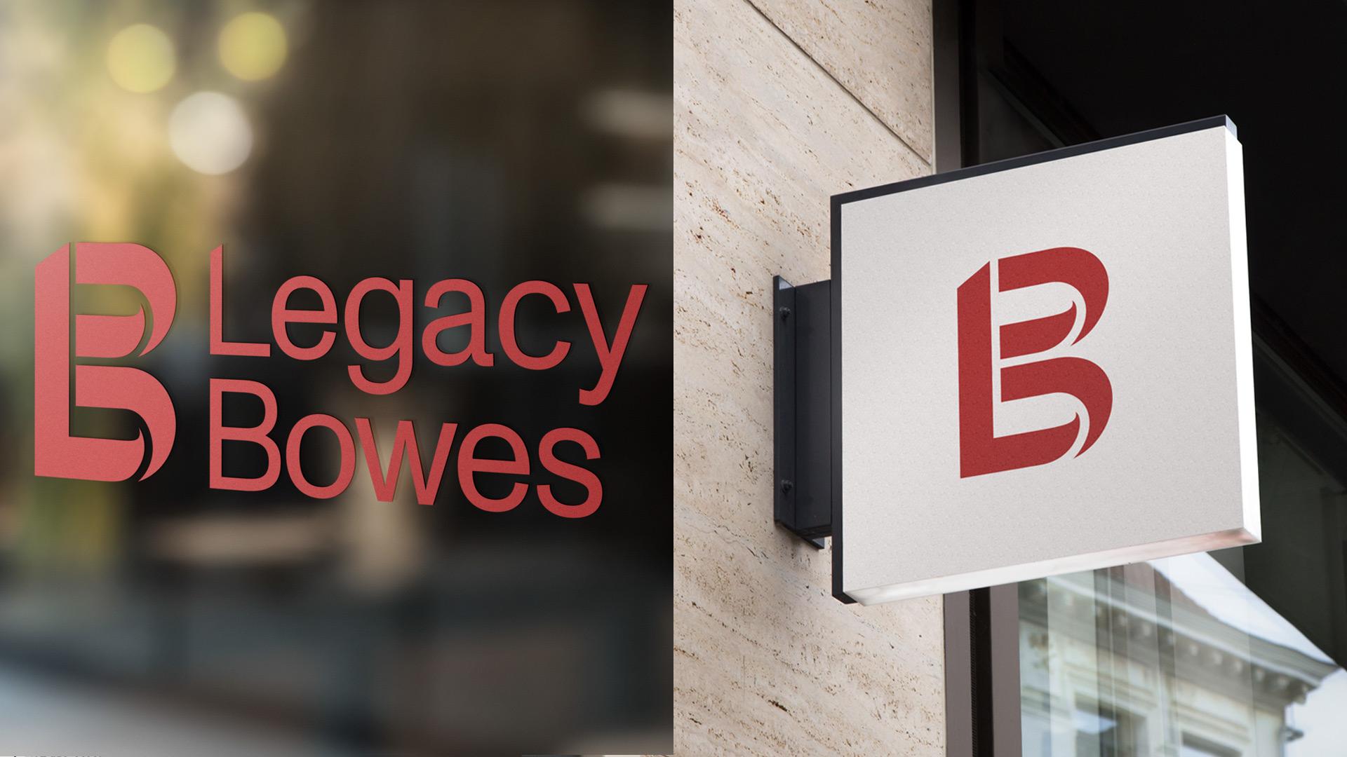 Legacy Bowes Logo display