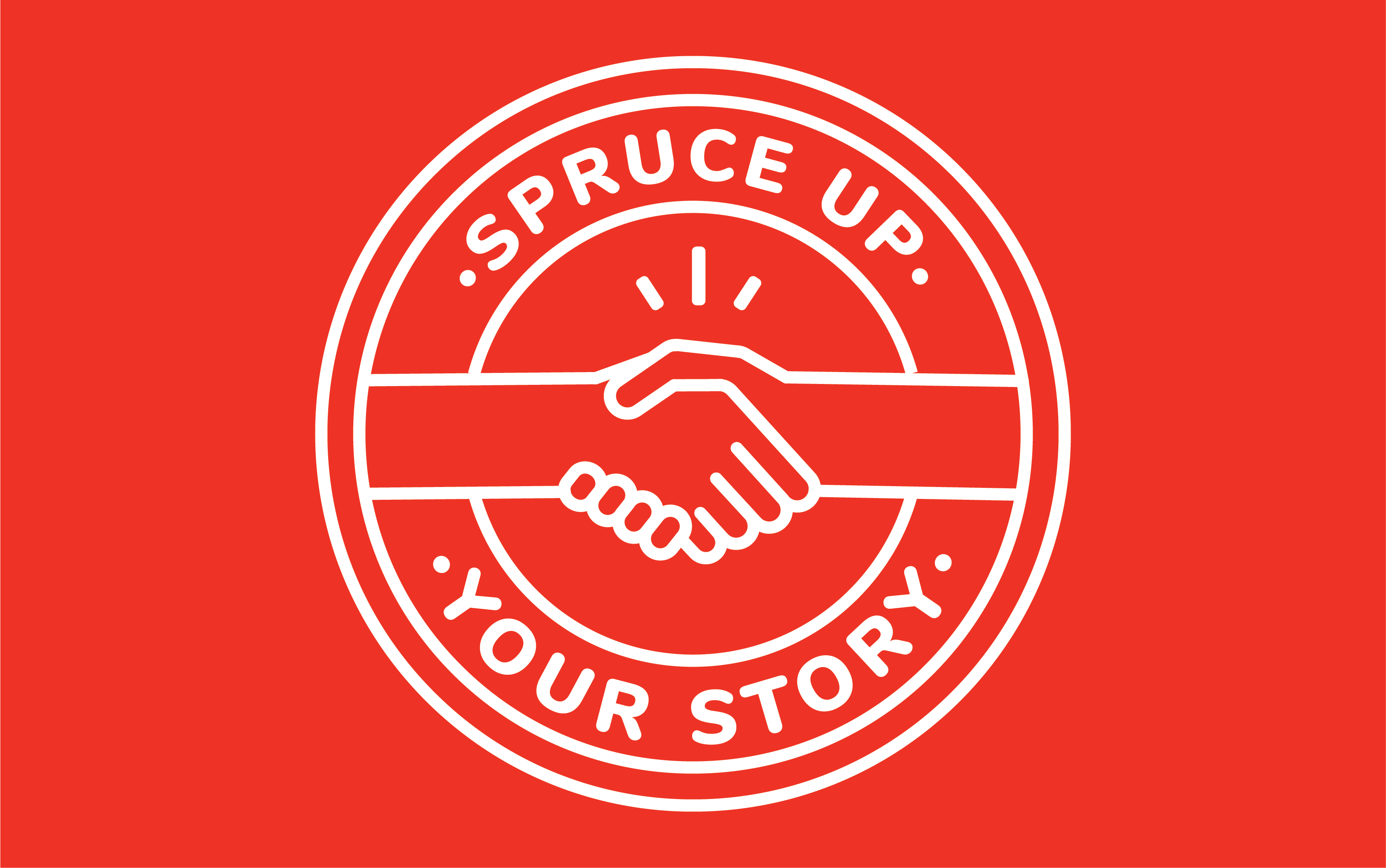 Spruce Up Your Story logo