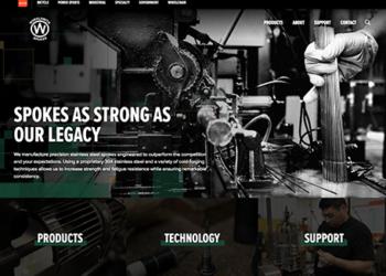 Disrupt | Wheelsmith website