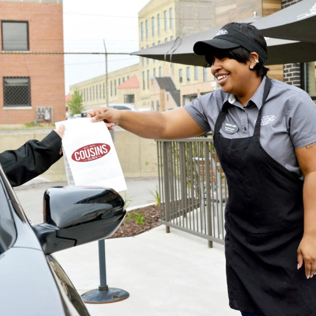 With the spread of COVID-19, Cousins Subs launched Curbside Pickup to provide food more safely for customers.