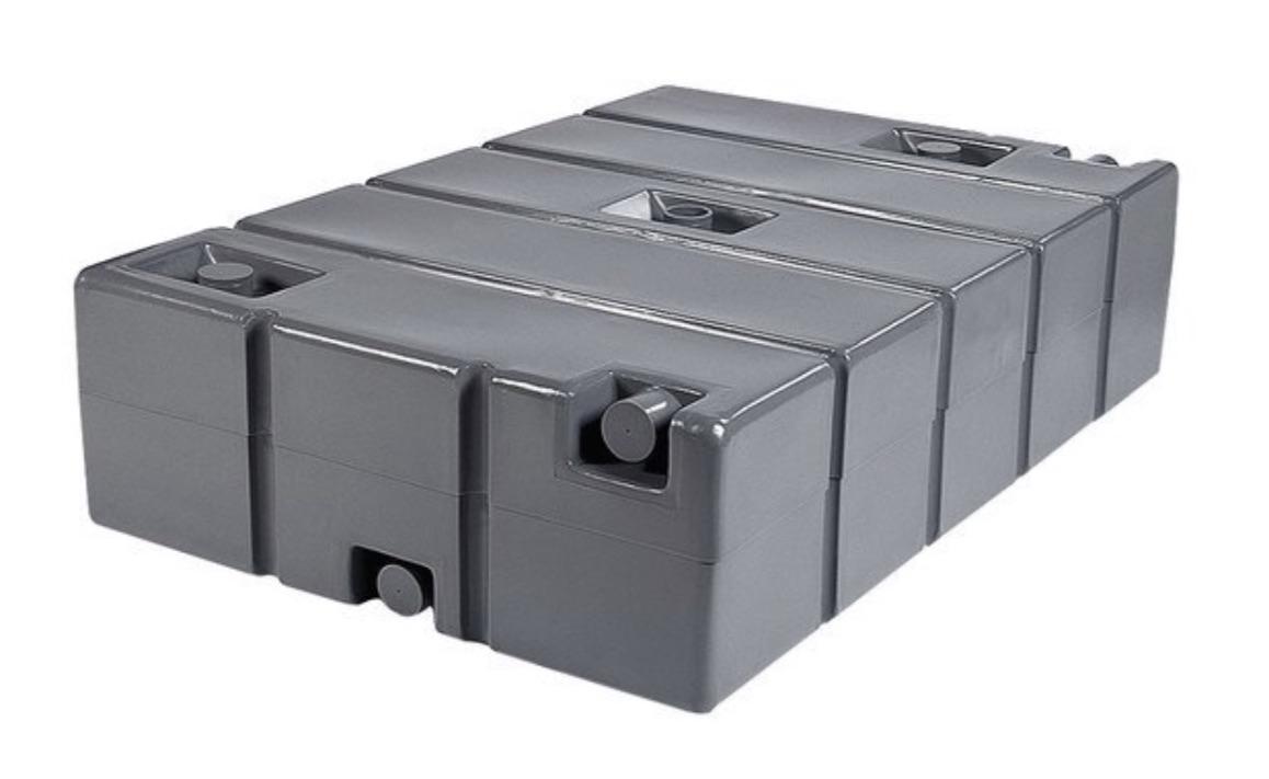 PolyJohn HT01-0250 Grey 250 Gallon Holding Tank