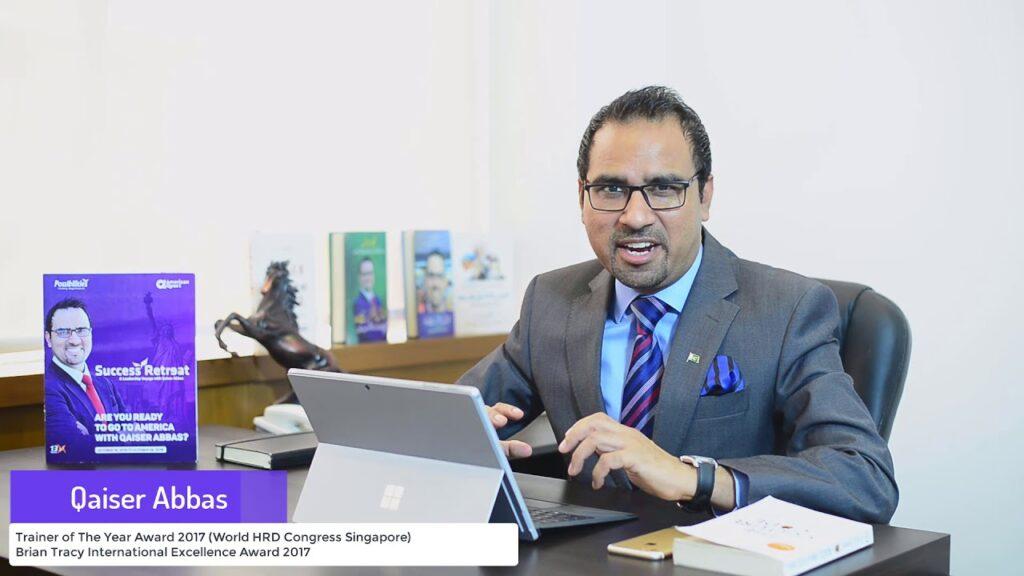 Qaiser Abbas motivational speaker of Pakistan