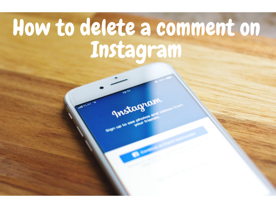 How to delete a comment on Instagram