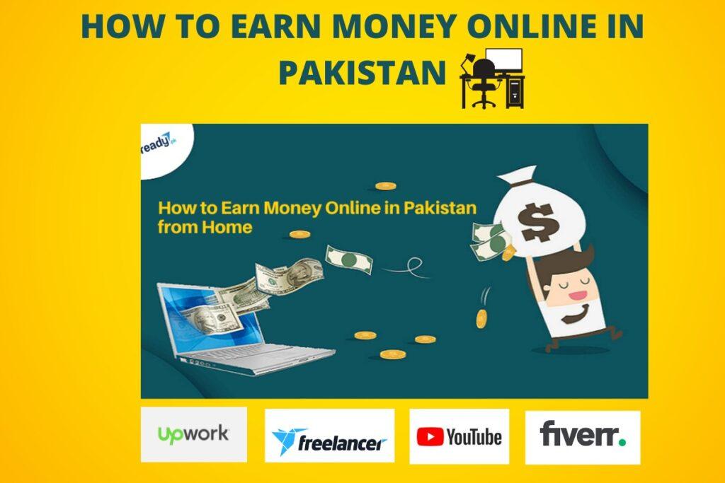 how to earn money online in pakistan