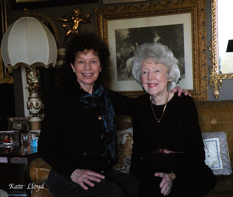 A lovely visit with my mother-in-law.
